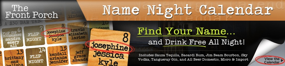 Name Night Calender Promo Banner