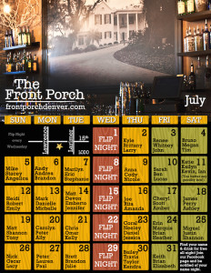 July name night calendar