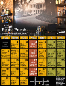 June 2015 name night calendar