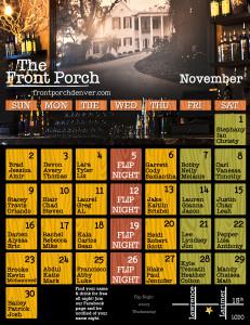 Name Night November Calendar