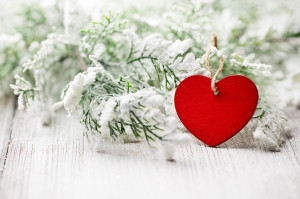 Christmas heart.